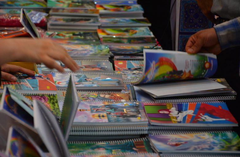 حضور بچه های آسمانی در ششمین نمایشگاه نوشت افزار ایران نوشت