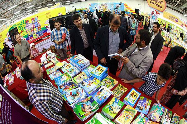 حضور بچه های آسمانی در نمایشگاه نوشت افزار ایران نوشت